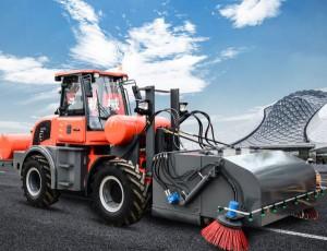 路霸清扫车应用于市政有何优势