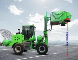 水泥厂专用清扫车的性能改进
