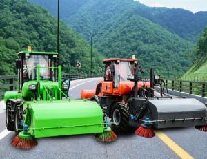 煤厂专用清扫车配置与工作原理说明