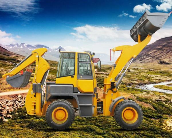 WZ40-28挖掘装载机